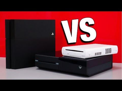 Console Wars: Xbox One vs PS4 vs Wii U (Round 6)