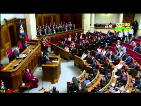 Poroshenko sworn in as Ukraine's president