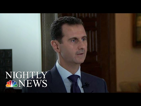 Syrian President Bashar Al-Assad: Exclusive Interview | NBC Nightly News