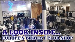 EUROPE'S BIGGEST CLUB SHOP OPEN TODAY: New Club Store at Tottenham's New Stadium Stocking Nike & NFL