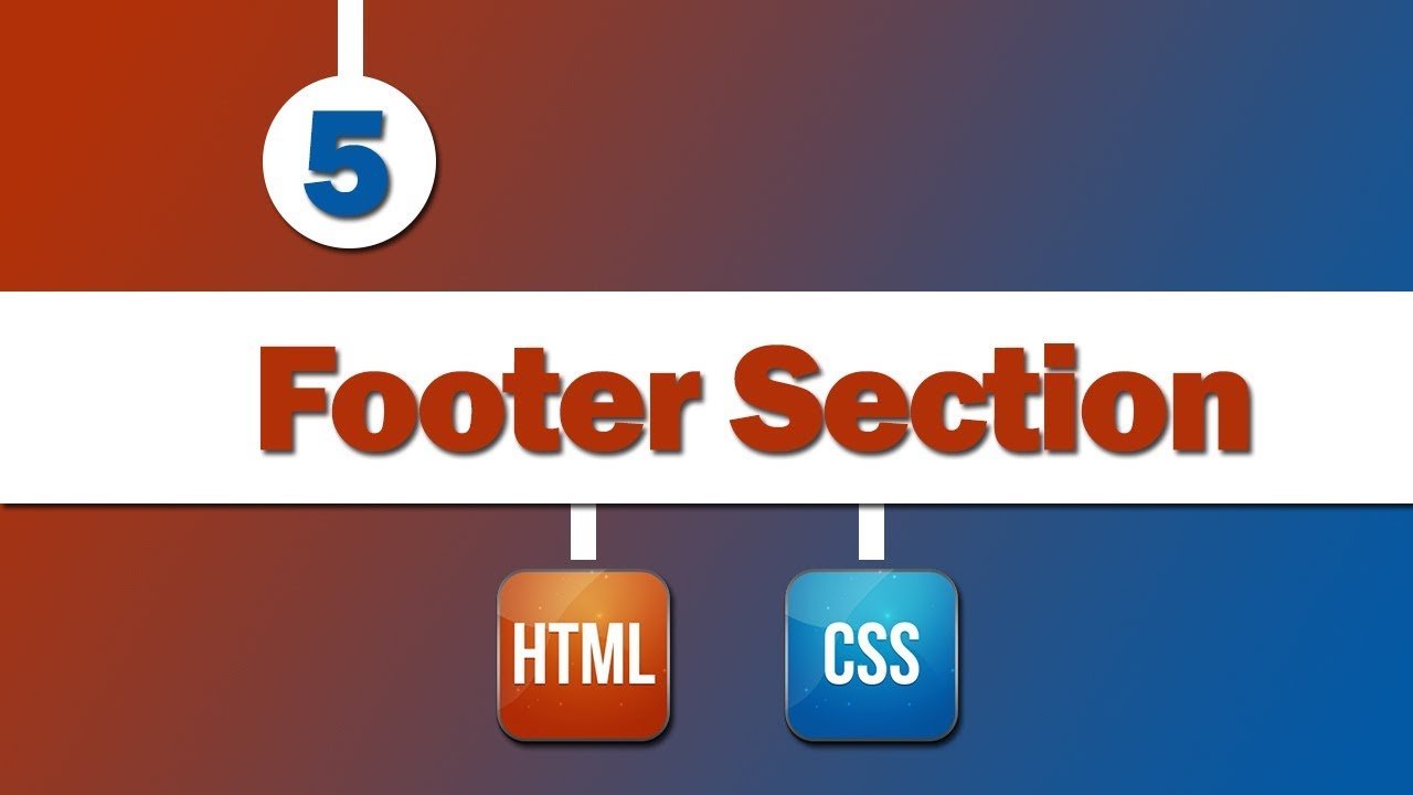 5 design template footer section end template youtube 5 design template footer section end template maxwellsz