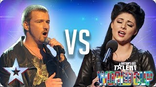 Jai McDowall vs Lucy Kay | Britain
