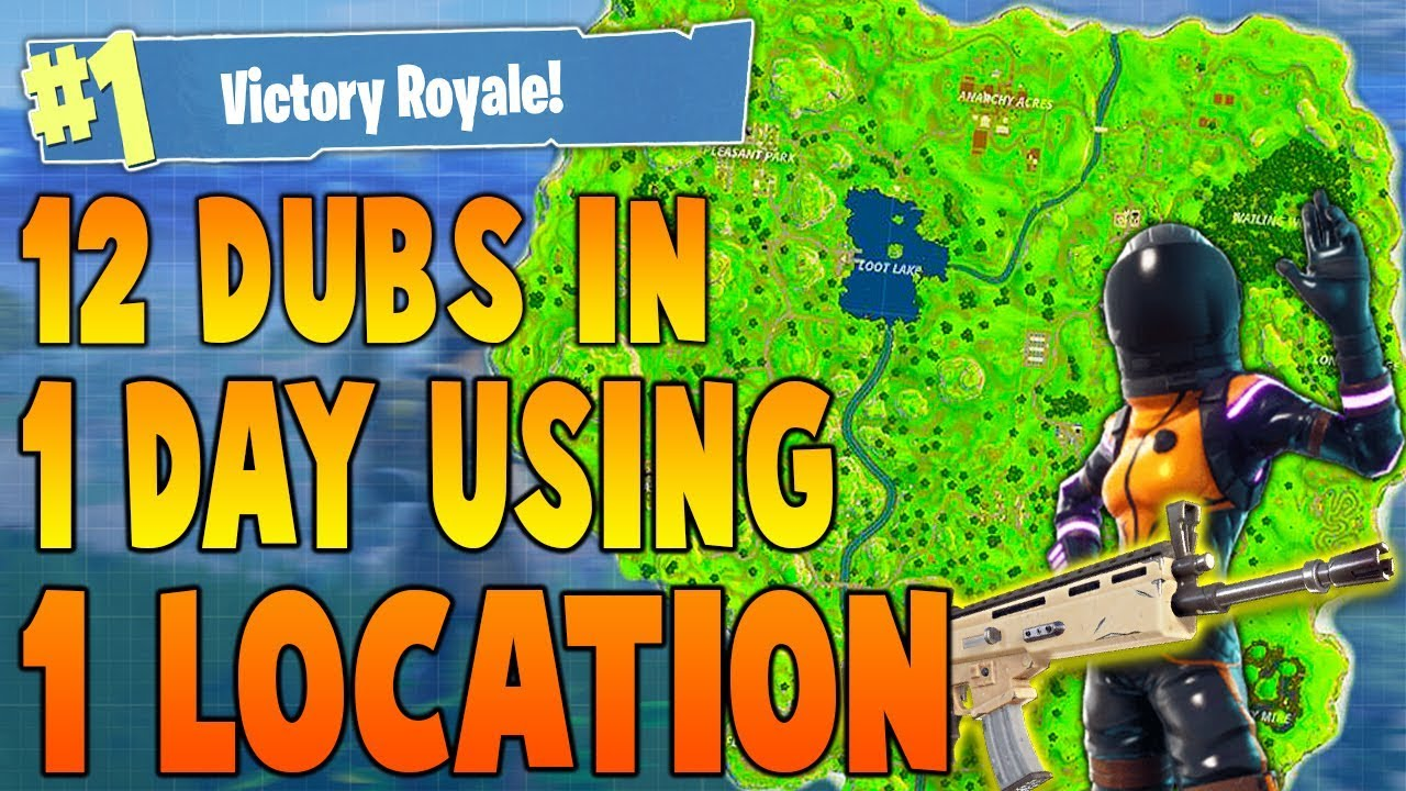 BEST PLACE To LAND For EASY WINS and LOOT (Best Fortnite ...