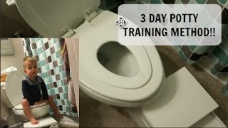 VLOGMAS DAY 22🎄I 3 DAY POTTY TRAINING! I TIPS I RECOMMENDATIONS