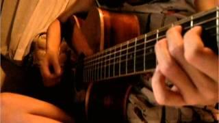 乱歩奇譚ED、さユりさんのミカヅキをギターの弾き語りでコピーしました! 聞いてください。