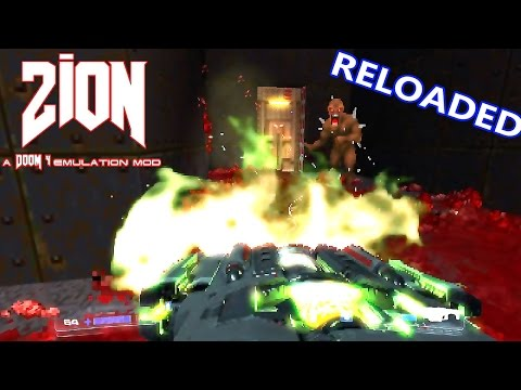 Video: DOOM 4 in DOOM 2 - Zion v08 Reloaded (All Weapons Mod + Sound Fix +  Bloom Effect)