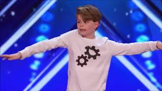 Gambar cover 12 YEAR OLD BOY DOES IN MY FEELINGS CHALLENGE ON AMERICAS GOT TALENT (EMOTIONAL)