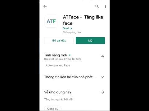 cách hack like facebook trên điện thoại android - ATFace - Hướng dẫn tăng like facebook miễn phí mới nhất