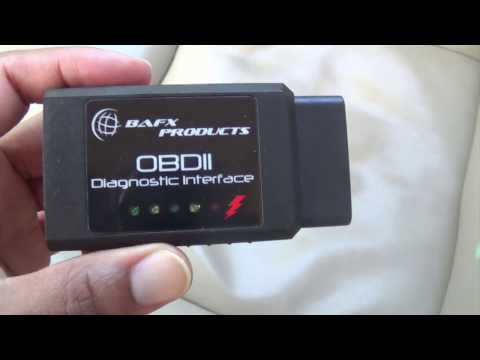 BAFX OBD II Code Reader Review | OBD2 Scanner First Use