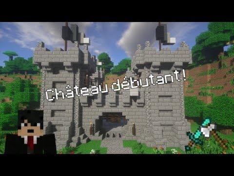 Video comment faire un chateau minecraft