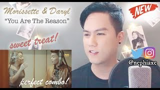 Download Lagu You Are The Reason - Calum Scott - Cover by Daryl Ong & Morissette Amon | REACTION Mp3