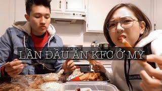 Lần Đầu Ăn KFC Tại Mỹ - KFC Ở Mỹ Có Gì Khác Việt Nam ? Cuộc Sống Mỹ Của Chú Thỏ | Lmlstory
