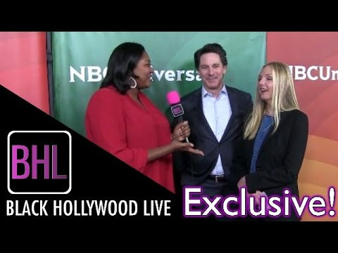Scott Cohen & Hope Davis @ NBC Universal Winter Press Tour | Black Hollywood Live