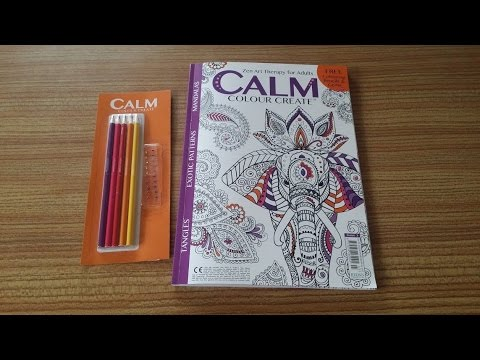 Calm Colour Create Issue 3 Indian Summer Youtube