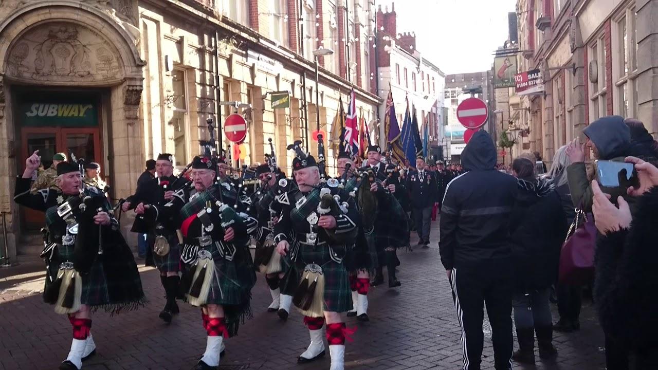 Remembrance Sunday Northampton