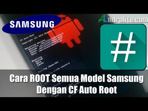 Cara Root Semua Samsung Tanpa Install TWRP (CF Auto Root)