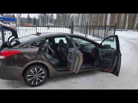 Тест драйв Hyundai i40 1.7 CRDi