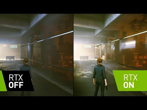 Control - RTX ON vs RTX OFF Comparison - Real Time Ray Tracing - Max Settings - 4k