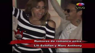 Rumores dicen que existe un romance entre Lili Estefan y Marc Anthony