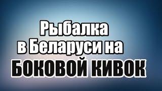 Рыбалка в Беларуси на БОКОВОЙ КИВОК весной ловля на боковой кивок видео летняя мормышка