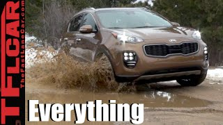 2017 Kia Sportage: Snowy Off-Road & Everything You Ever Wanted to Know Review
