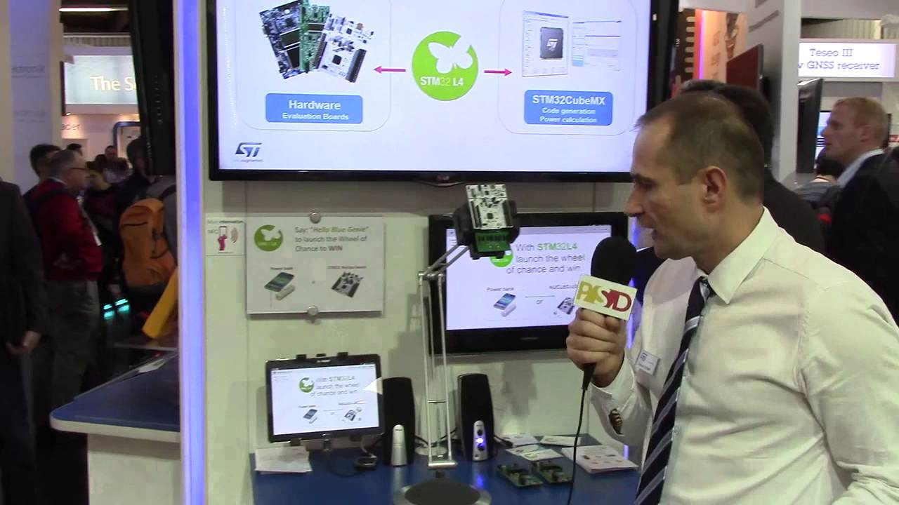 STM32L4 ultra-low-power microcontroller at embedded world