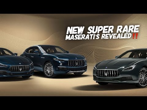 Meet The Maserati Special Royale Series 1 Of 100!