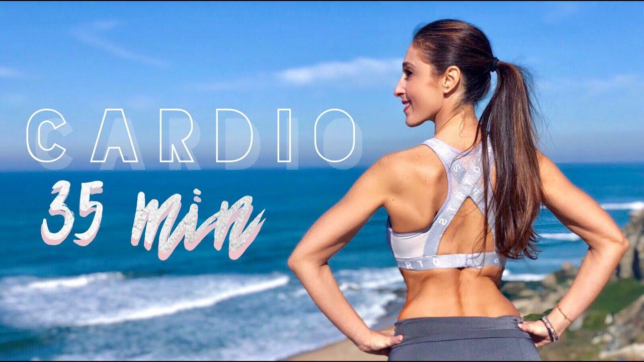 Como eliminar grasa abdominal y reducir cintura cardio 35?