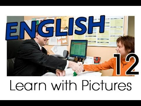 learn english english office vocabulary youtube. Black Bedroom Furniture Sets. Home Design Ideas