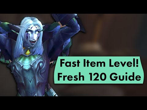 What To Do As A Fresh 120 In 8.3 - Step By Step Guide For Fast Item Level