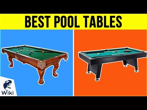 10 Best Pool Tables 2019