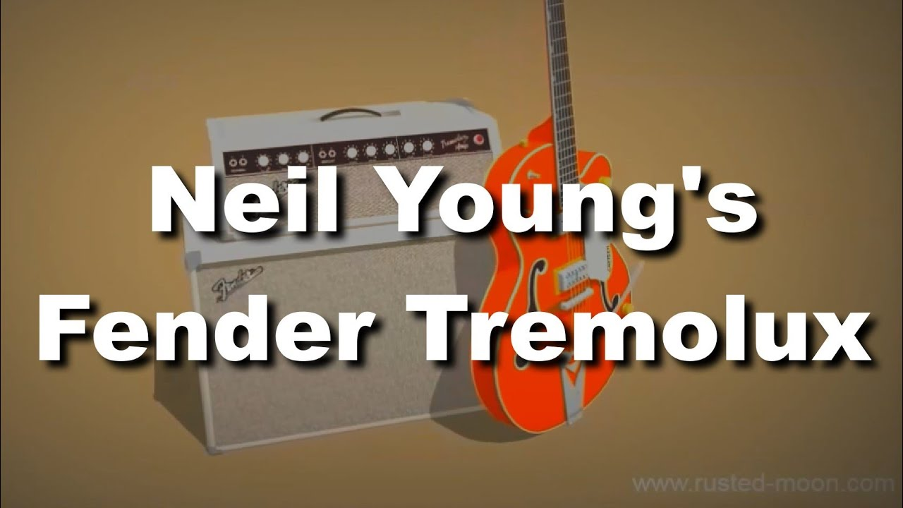 Neil Youngs Fender Tremolux Amp 1964