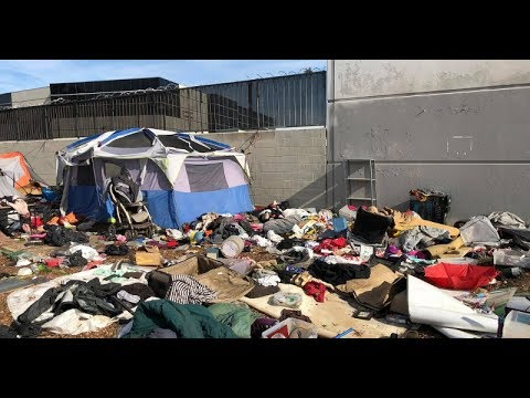 Welcome to America's S***hole:  Orange County California Edition Santa Ana River Trail