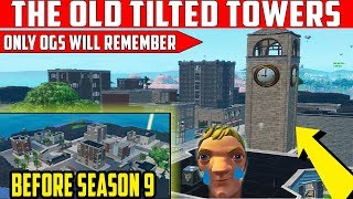 The Old Tilted Towers In Creative Mode Fortnite (Creative Code In Desc)