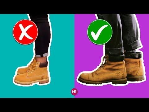 Как модно носить джинсы с ботинками