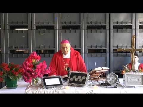 Visita del vescovo all'industria Flexso di Cicagna