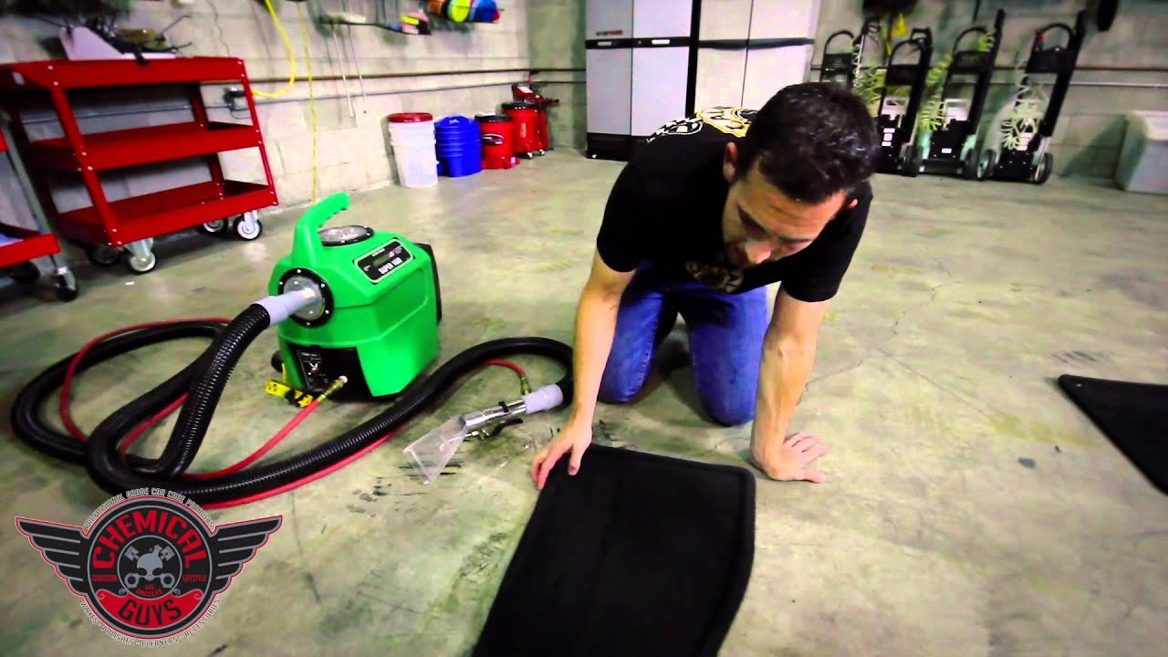 How To Hot Water Extract Carpet Chemical Guys Detailing