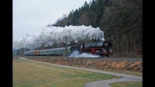 Dampflok 01 519 nach Konstanz