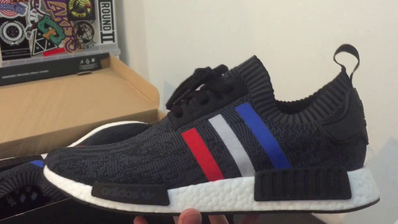 9c326f91f819d Adidas NMD PK Black  Tri-color  Unboxing + Review - YouTube