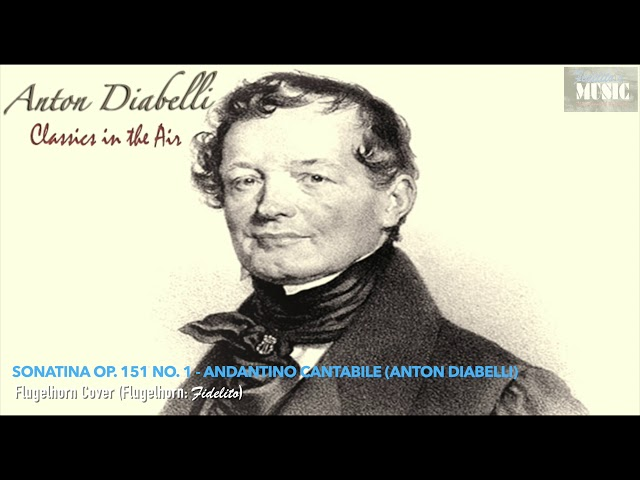 Sonatina Op.151 No.1 - Andantino Cantabile (Anton Diabelli) - Flugelhorn Cover