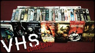 Коллекция из 90-х...мой тайник(коробка)...Моя коллекция видеокассет (VHS)