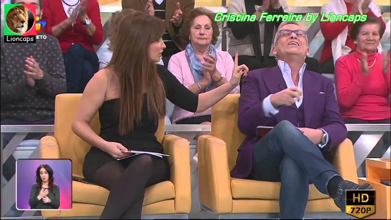 Cristina Ferreira sensual nas manhas da TVI