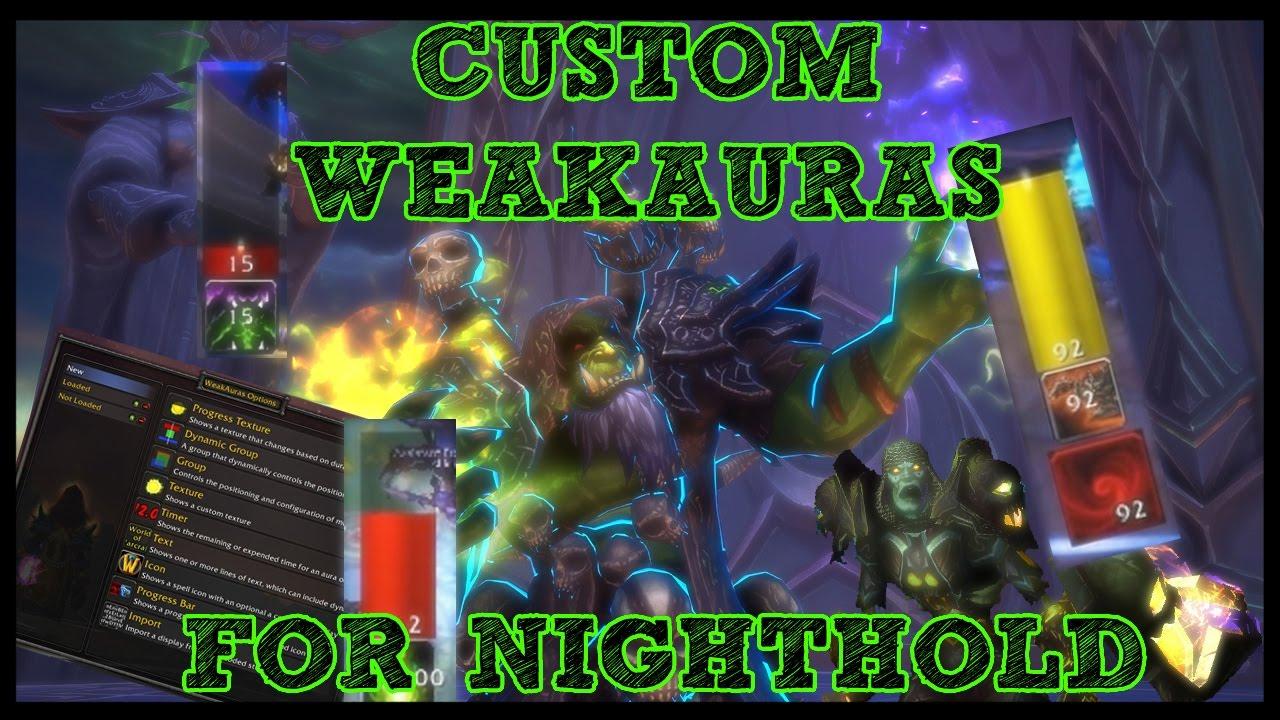 How to: Weak Auras 2 addon