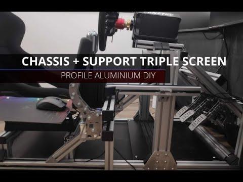 simracing-châssis-&-support-triple-@diy-|-profilé-aluminium