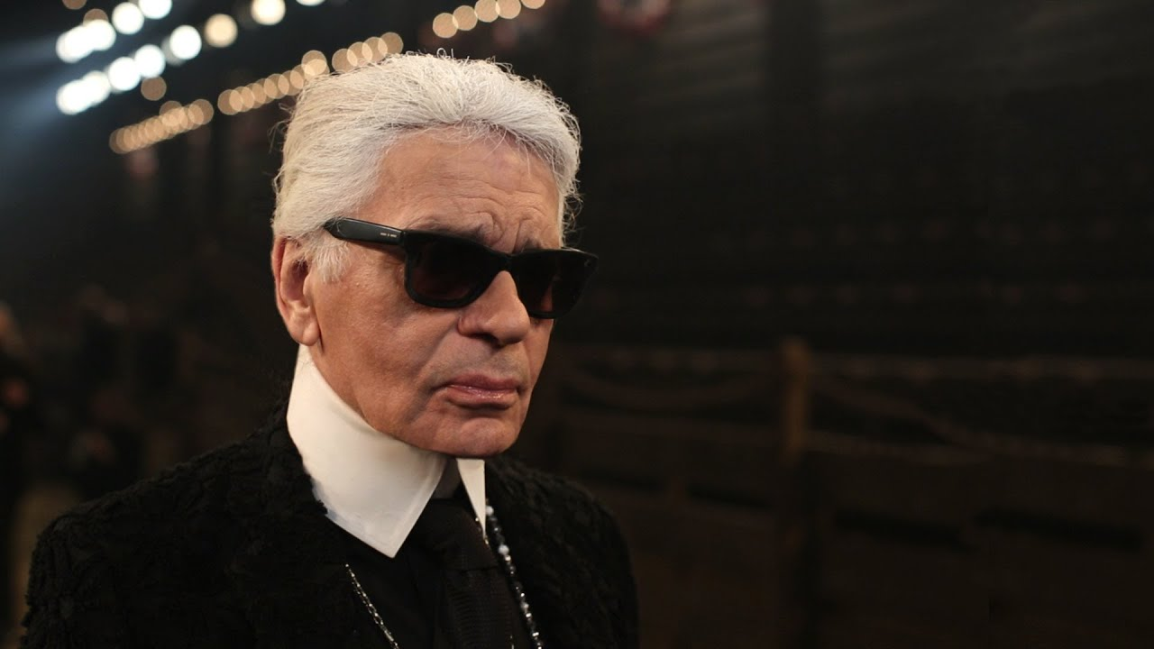 Interview with Karl Lagerfeld - Paris-Dallas 2013/14 Métiers d'Art show