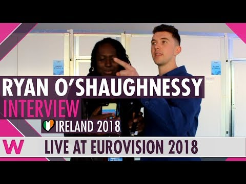 Ryan O'Shaughnessy (Ireland) Interview @ Eurovision 2018 | wiwibloggs