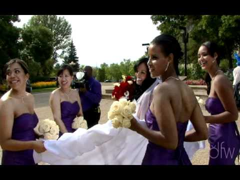 Calgary, Edmonton and Vacouver wedding video Fast dance montage