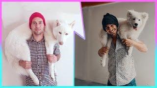 ► Imitando Fotos Tumblr con mi Perro | Rayo Perro