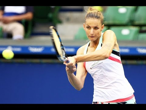2017 Toray Pan Pacific Open Second Round | Karolina Pliskova vs Magda Linette | WTA Highlights
