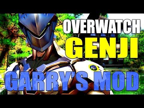 Gmod SWORDS & SMGS Deathmatch w/ OVERWATCH Genji Mod! - YouTube